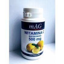 Witamina C mAG, BUFOROWANA 500 mg/111 kapsułek