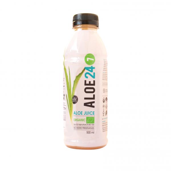 Bio aloes, sok z dziko rosnących roślin, 500 ml