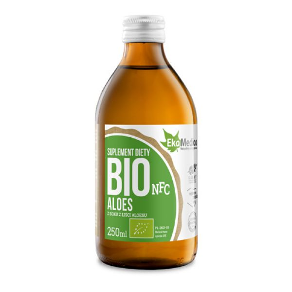 Sok z Bio Aloesu 99.8%, 250 ml
