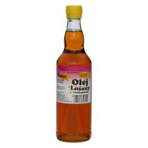 Olej Lniany, Tłoczony na zimno, 0,5 l