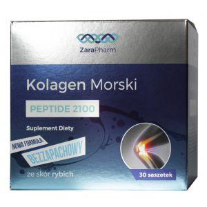 Naturalny Kolagen morski peptide 2100 - saszetki